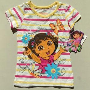 NWT Dora the Explorer Girls Shirt Size 2T